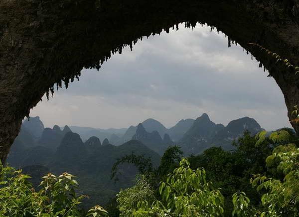 Yangshuo weather Moon Hill Yangshuo Mountain Retreat